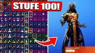 Fortnite Battle Pass level 100 MAX account get from ZUSCHAUER! - Fortnite Battle Royale English