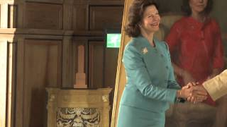 Video Staatsieportret koningin Sylvia onthuld op kasteel Gripsholm in Mariefred, Zweden. download MP3, 3GP, MP4, WEBM, AVI, FLV Agustus 2017