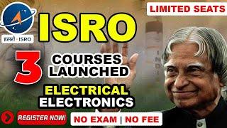 ISRO COURSE BIG UPDATE 2021   ISRO FREE CERTIFICATE   LUNAR MISSION   CHANDRAYAN APJ ABDUL KALAM