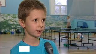 Секция настольного тенниса Деденевской средней школы