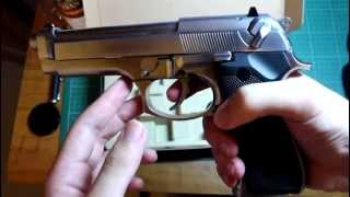 New WE Beretta M9 unboxing & shooting test