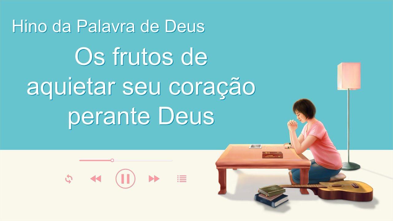 """Música gospel 2020 """"Os frutos de aquietar seu coração perante Deus"""""""