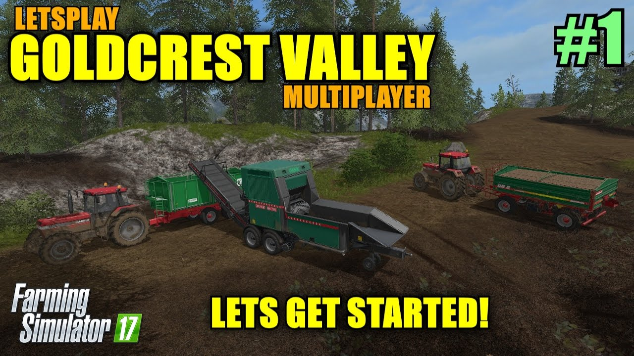 Farming Simulator 17 - Goldcrest Valley Map