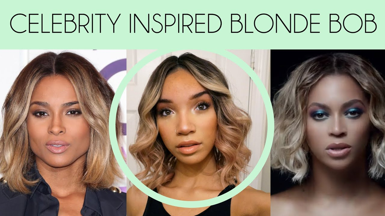 Hair blonde ciara bob lace wig from wowafrican youtube urmus Image collections