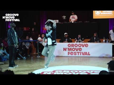 GROOVE'N'MOVE BATTLE 2017 -1/4 Final Popping - Prince vs Poppin' Cruzito
