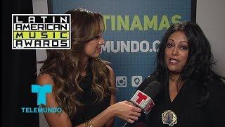 La India habla del tributo a Celia Cruz en los ensayos de Latin AMAs 2015 | Telemundo