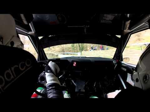 CIR 2015 ŠKODA Italia Motorsport Scandola-D'Amore 62° Rally Sanremo Start SS 2 Bignone