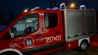 Przyjazd nowego lekkiego samochodu - ratowniczo gaśniczego do jednostki OSP Częstochowa - Kiedrzyn