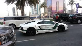 Dubai Police Lamborghini Aventador Patrol car