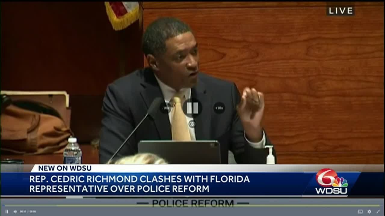 Black Man is Boss. politician humiliates whie swirler in police reform debate