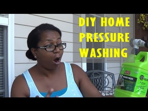 CLEAN WITH ME DIY HOME PRESSURE WASHING
