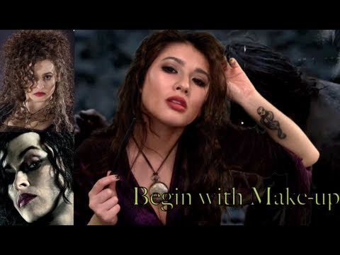 Bellatrix Lestrange Hair/Makeup Deathly Hallows Part 2 ...