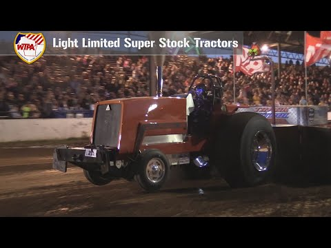 Light Limited Super Stock Tractors Pulling At Weyauwega, WI - August 24th, 2019