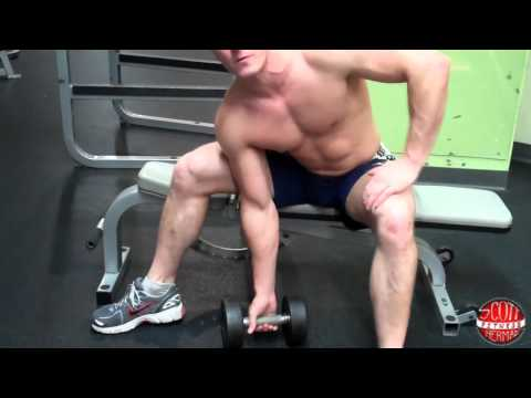 How To: Dumbbell Concentration Curl