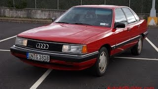 1986 Audi 5000CS Quattro Type 44 Sedan