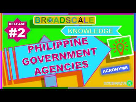 Philippine Government Agencies Acronym_Release # 2