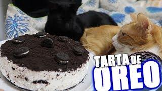 HAGO UNA TARTA DE OREO INVERTIDA