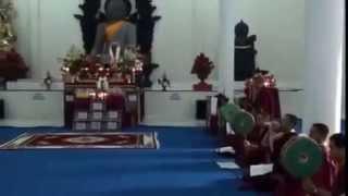 The Holy Vesak 4  Padmasambhava Ritual Ganachakra   Chog Offering