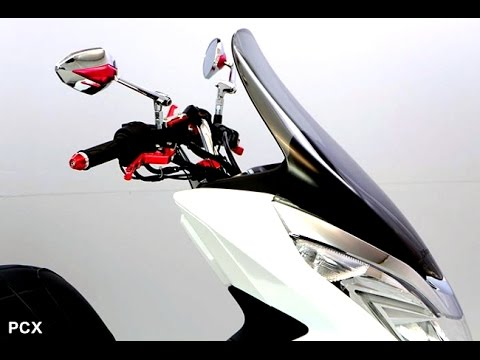 New Windshield For Pcx 2015 Youtube