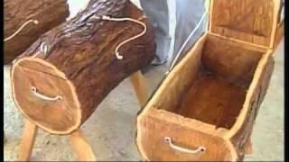 Artesanias Muebles de Madera de Mezquite en Dr Arroyo NL