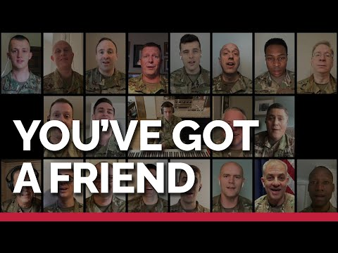 """The United States Army Chorus Presents """"You've Got A Friend"""""""