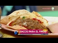 Tacos sencillitos