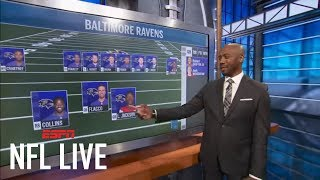Louis Riddick breaks down how Ravens can use Lamar Jackson in their backfield | NFL Live | ESPN