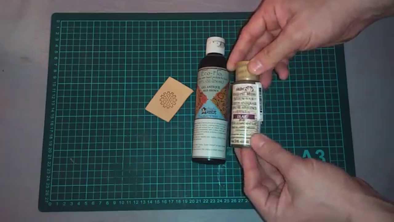 Работа с кожей. Часть 8. Выбор финиша для кожи - YouTube