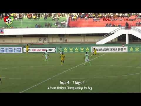 CHAN Togo 4 1 Nigeria