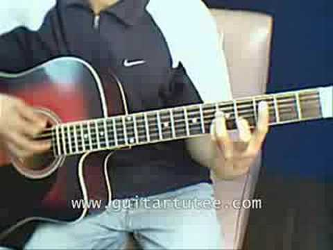 Crazy (of Simple Plan, by www.GuitarTutee.com)