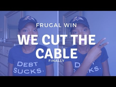 Frugal Win: How We Cut the Cable FINALLY | SLING TV, Amazon Fire Stick | FrugalChicLife