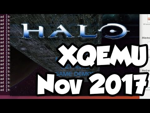 XQEMU Xbox Emulator Playing Halo! [Nov 2017]