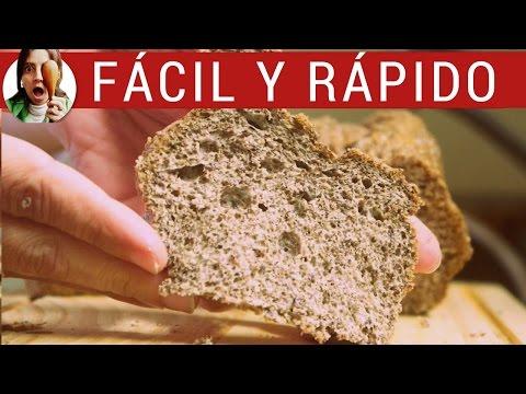 Pan casero de lino: SIN harina, sin gluten ¡y adelgaza!. Una receta de pan para celíacos genial.