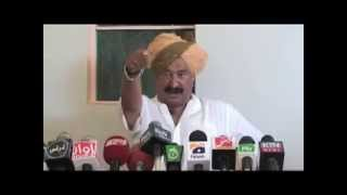 real rajput!!!! muh tod jwab to the pakistan in press conference at Pakistan