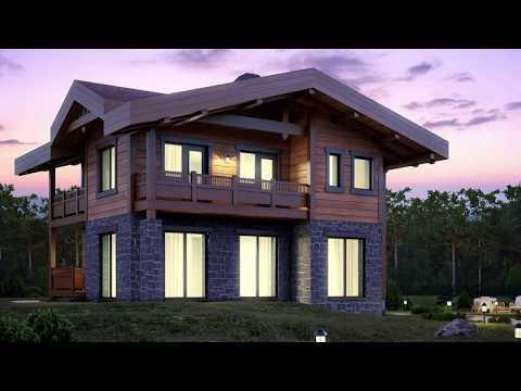 Комбинированный дом. Строительство первого этажа