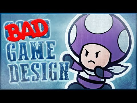 Bad Game Design - Super Paper Mario & Color Splash