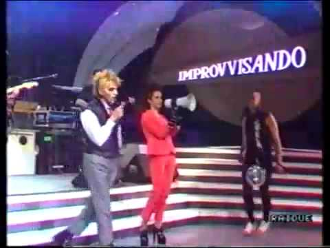 CCCP e Amanda Lear Tomorrow RARO comparsata TV 1988