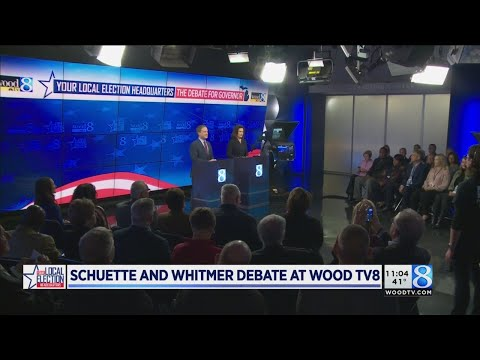 Schuette, Whitmer sling mud, promise fixes in debate
