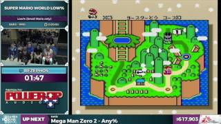 Super Mario World by rezephos in 16:19 - SGDQ 2016 - Part 152