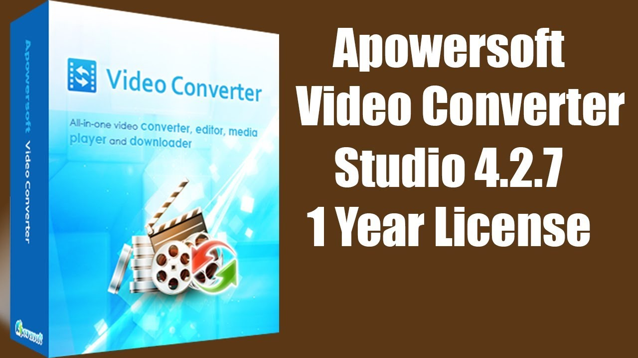 apowersoft video converter studio license code