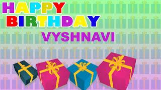 Vyshnavi - Card Tarjeta_346 - Happy Birthday