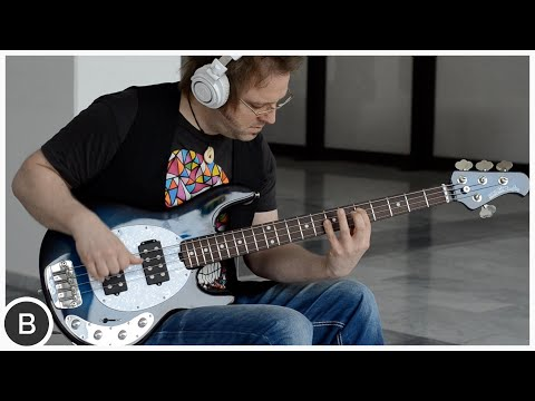 MUSIC MAN STINGRAY NECK THRU BASS - Lars Lehmann | BassTheWorld.com