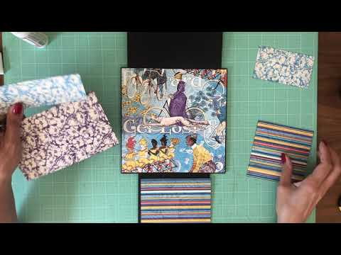 Mini Album Tutorial Graphic 45 Life is a Journey page 6, 7 & 8 thumbnail