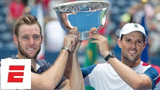 2018 US Open highlights: Mike Bryan and Jack Sock win men's doubles championship | ESPN