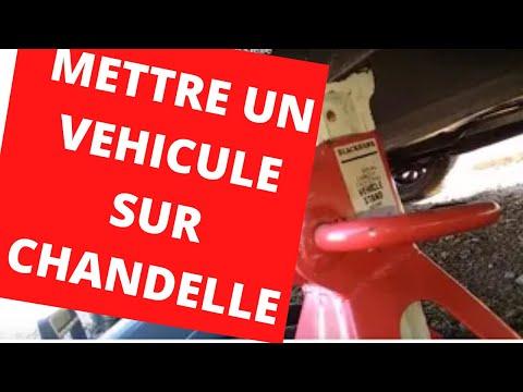 🚗🚐 Comment Mettre Un Véhicule Sur Chandelle / How To Put A Vehicle On A Candle
