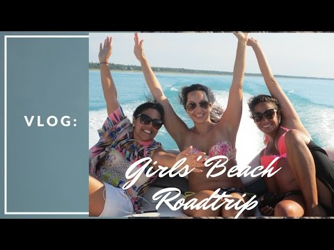 Vlog: Girls Roadtrip to the Beach | Angelie Sood