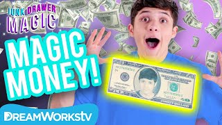 40 Dollar Bill Trick | JUNK DRAWER MAGIC