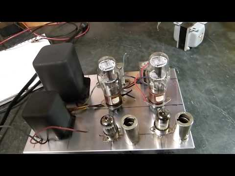 Part 1:   Vacuum Tube Headphone Amplifier Using WWII Vintage 1626 Triode