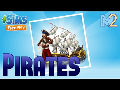 Sims FreePlay - Pirate Quest with Rose Granger-Weasley (Let'