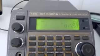 Planespotting mit ACARSD Software und AOR AR-3000A Radio